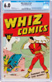 Whiz Comics #2 (#1) (Fawcett Publications, 1940) CGC FN 6.0 Off-white to white pages