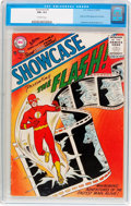 Silver Age (1956-1969):Superhero, Showcase #4 The Flash (DC, 1956) CGC FN+ 6.5 Off-white pages....