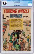 Golden Age (1938-1955):Miscellaneous, Turning Wheels #nn (Studebaker, 1954) CGC NM+ 9.6 Off-white to white pages....