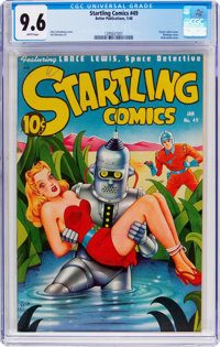Startling Comics #49 (Better Publications, 1948) CGC NM+ 9.6 White pages
