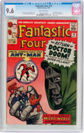 Silver Age (1956-1969):Superhero, Fantastic Four #16 (Marvel, 1963) CGC NM+ 9.6 Off-white pages....