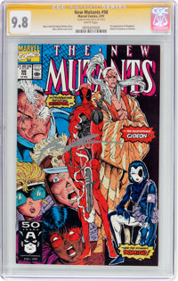 The New Mutants #98 Signature Series (Marvel, 1991) CGC NM/MT 9.8 White pages
