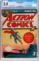 Action Comics #21 (DC, 1940) CGC GD+ 2.5 Cream to off-white pages