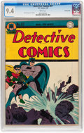 Golden Age (1938-1955):Superhero, Detective Comics #97 Crowley Copy pedigree (DC, 1945) CGC NM 9.4 White pages....