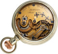Timepieces:Pocket (pre 1900) , George L. Eason Des Moines Iowa, Special Modified E. Howard KeyWind, circa 1870. ...