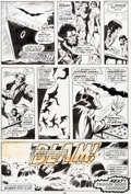 Original Comic Art:Panel Pages, Gene Colan and Jack Abel Tomb of Dracula #10 Story Page 20Blade Original Art (Marvel, 1973)....