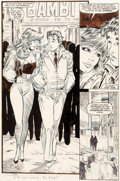 Original Comic Art:Panel Pages, Todd McFarlane Amazing Spider-Man #310 Story Page 12Original Art (Marvel, 1988)....