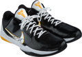 Basketball Collectibles:Others, 2009-10 Kobe Bryant Game Worn & Signed Sneakers Given to NBA Source - NBA Championship Season. . ...