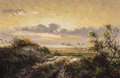 Fine Art - Painting, American, Dalhart Windberg (American, b. 1933). At the Coast, 1972.Oil on canvas. 15 x 24 inches (38.1 x 61.0 cm). Signed lower r...