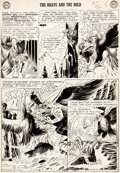 Original Comic Art:Panel Pages, Howard Purcell The Brave and the Bold #51 Page 5 Original Art (DC, 1963)....