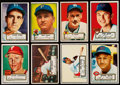Baseball Cards:Lots, 1952 Topps Baseball Collection (52)....