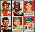 Baseball Cards:Lots, 1952 and 1953 Topps Baseball Collection (6). ...