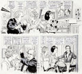 "Original Comic Art:Complete Story, Angelo Torres Mad #194 Complete 6-page Story ""Lavoine and Shoiley"" Original Art (EC, 1977)...."