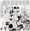 "Original Comic Art:Complete Story, Angelo Torres Mad #231 Complete 7-page Story ""Swill Street Blues"" Original Art (EC, 1982)...."