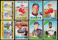 Baseball Cards:Lots, 1966 and 1967 Topps Star and Rookie Card Collection (8). ...