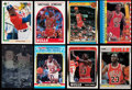 Basketball Cards:Lots, 1987 to 1991 Michael Jordan Collection (8). ...