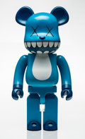Fine Art - Sculpture, American:Contemporary (1950 to present), KAWS X BE@RBRICK. Chompers 1000%, 2003. Painted cast vinyl.28-1/4 x 13-1/2 x 8 inches (71.8 x 34.3 x 20.3 cm). Stamped ...