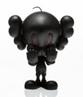 Fine Art - Painting, Russian:Contemporary (1950 to present), KAWS X Warner Brothers. Tweety Bird (Black), 2010. Paintedcast vinyl. 10 x 6-1/2 x 3-1/2 inches (25.4 x 16.5 x 8.9 cm)...