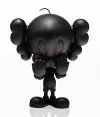 KAWS X Warner Brothers Tweety Bird (Black), 2010 Painted cast vinyl 10 x 6-1/2 x 3-1/2 inches (25