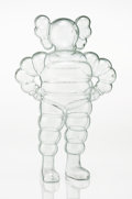 Fine Art - Sculpture, American:Contemporary (1950 to present), KAWS (American, b. 1974). Chum (Clear), 2002. Cast resin.12-3/4 x 8 x 4 inches (32.4 x 20.3 x 10.2 cm). Ed. 119/1000. S...