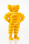Fine Art - Sculpture, American:Contemporary (1950 to present), KAWS (American, b. 1974). Chum (Yellow), 2002. Painted castresin. 12-1/2 x 8 x 4 inches (31.8 x 20.3 x 10.2 cm). Ed. 33...