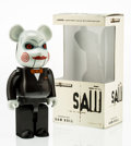 Fine Art - Sculpture, American:Contemporary (1950 to present), BE@RBRICK X Lionsgate. Saw Doll 400%, 2006. Painted castresin. 10-1/2 x 5 x 2-1/2 inches (26.7 x 12.7 x 6.4 cm). Editio...