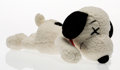Fine Art - Sculpture, American:Contemporary (1950 to present), KAWS X Peanuts. Snoopy, small, circa 2017. Polyester plush.10 x 5 x 5 inches (25.4 x 12.7 x 12.7 cm). Incised on the co...
