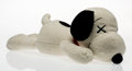 Fine Art - Sculpture, American:Contemporary (1950 to present), KAWS X Peanuts. Snoopy, large, circa 2017. Polyester plush.9 x 22 x 9 inches (22.9 x 55.9 x 22.9 cm). Incised on the co...