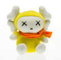 Fine Art - Sculpture, American:Contemporary (1950 to present), KAWS X Mad Hectic. Miffy Doll, 2001. Polyester plush. 7-1/2x 7-1/2 x 5 inches (19.1 x 19.1 x 12.7 cm). Stamped on tag. ...