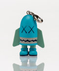 Fine Art - Sculpture, American:Contemporary (1950 to present), KAWS (American, b. 1974). Blitz (Blue), keychain, 2011.Painted cast vinyl. 1-1/2 x 1 x 1/2 inches (3.8 x 2.5 x 1.3 cm)...