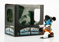 Collectible, Disney. Mickey Mouse, Frankenstein, 2009. Painted cast resin. 5 x 2-1/2 x 5 inches (12.7 x 6.4 x 12.7 cm). Stamped on th...