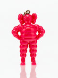 Fine Art - Sculpture, American:Contemporary (1950 to present), KAWS (American, b. 1974). Chum (Pink), keychain, 2009.Painted cast vinyl. 2 x 1-1/2 x 1 inches (5.1 x 3.8 x 2.5 cm).St...