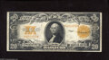 Large Size:Gold Certificates, Fr. 1187 $20 1922 Gold Certificate Very Fine. This $20 Gold has plenty of body and nice color for the grade. A trivial edge ...