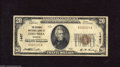 National Bank Notes:Missouri, Columbia, MO - $20 1929 Ty. 1 The Exchange NB Ch. # 1467 PresidentC.B. Bowling's signature, who writes his Bs like Ms,...