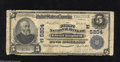 National Bank Notes:Pennsylvania, Glen Campbell, PA - $5 1902 Plain Back Fr. 606 The First NB Ch. # (E)5204 This is one of the most famous town names in ...