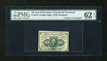 Fractional Currency:First Issue, Fr. 1242 10c First Issue with Huston Courtesy Autograph PMG Uncirculated 62 EPQ....