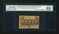 Fractional Currency:First Issue, Fr. 1281 25c First Issue with Huston Courtesy Autograph PMG Choice Uncirculated 63 EPQ....