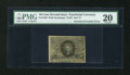 Fractional Currency:Second Issue, Fr. 1246 10c Second Issue Inverted Overprint Error PMG Very Fine 20....