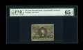 Fractional Currency:Second Issue, Fr. 1286a Slate Back 25c Second Issue PMG Gem Uncirculated 65EPQ....