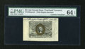 Fractional Currency:Second Issue, Fr. 1283SP 25c Second Issue Wide Margin Face with Morgan Courtesy Autograph PMG Choice Uncirculated 64 EPQ....