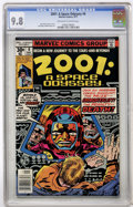 Bronze Age (1970-1979):Science Fiction, 2001: A Space Odyssey #6 (Marvel, 1977) CGC NM/MT 9.8 Off-white towhite pages....