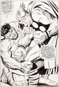 Original Comic Art:Splash Pages, Jack Kirby and Vince Colletta Thor #126 Splash Page 9 Hercules Original Art (Marvel, 1966)....