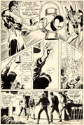 Original Comic Art:Panel Pages, Neal Adams and Frank Giacoia Green Lantern/Green Arrow #78 Story Page 7 Original Art (DC, 1970)....