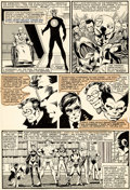Original Comic Art:Panel Pages, John Byrne and Terry Austin X-Men #138 Story Page 11 Original Art (Marvel, 1980)....