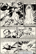 Original Comic Art:Panel Pages, John Byrne and Terry Austin X-Men #138 Story Page 12Original Art (Marvel, 1980)....