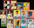 Baseball Cards:Lots, 1948-63 Baseball Stars & HoFers Collection (14)....