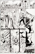 Original Comic Art:Panel Pages, George Perez The Infinity Gauntlet #2 Story Page 40 Original Art (Marvel, 1991)....