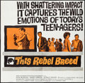 "Movie Posters:Exploitation, This Rebel Breed (Warner Brothers, 1960). Six Sheet (79.75"" X78.5""). Exploitation.. ..."