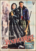 "Movie Posters:Crime, Vendetta (RKO, 1950). Italian 4 - Fogli (54.5"" X 78"") Ercole BriniArtwork. Crime.. ..."