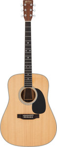 Musical Instruments:Acoustic Guitars, 2006 Martin D-35 Natural Acoustic Guitar, Serial # 1184487....